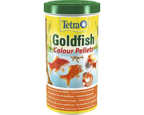 Tetra Pond Goldfish Colour Pellets 1I