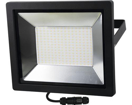 Projecteur LED IP65 150W 11250 lm 4000 K blanc neutre hxlxp 281x337x53 mm noir