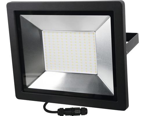 Projecteur LED IP65 200W 15000 Im 4000 K blanc neutre hxlxp 304x362x58 mm noir