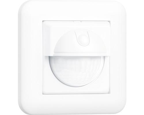 Détecteur de mouvements Steinel IR 180 UP Easy 180° Commutateur de capteur 2 + 3 fils Montage encastré Interrupteur mural blanc