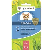 Protection contre les tiques et les puces bogaprotect SPOT-ON pour chats de 1,5 à 4kg 3x0,7ml-thumb-0