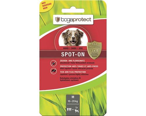 Protection contre les tiques et les puces bogaprotect SPOT-ON pour chiens de 10 à 20kg 3x2,2ml-0