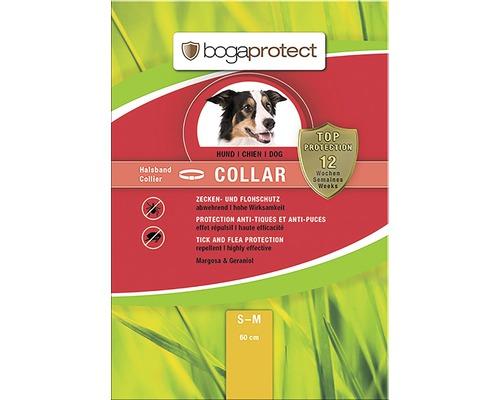Protection contre les tiques et les puces bogaprotect pour chiens ayant un tour de cou jusqu''à 50cm