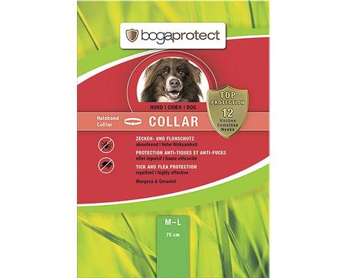 Protection contre les tiques et les puces bogaprotect pour chiens ayant un tour de cou jusqu''à 50-65cm