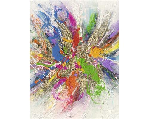 Image sur toile Colour abstraction 57x77 cm-0