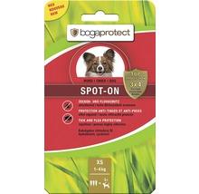 Protection contre les tiques et les puces bogaprotect SPOT-ON pour chiens de 1 à 5kg 3x0,7ml-thumb-0
