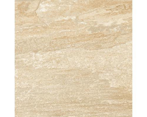 Dalle de terrasse en grès cérame fin Lava pierre vitrifié mat 60x60cm
