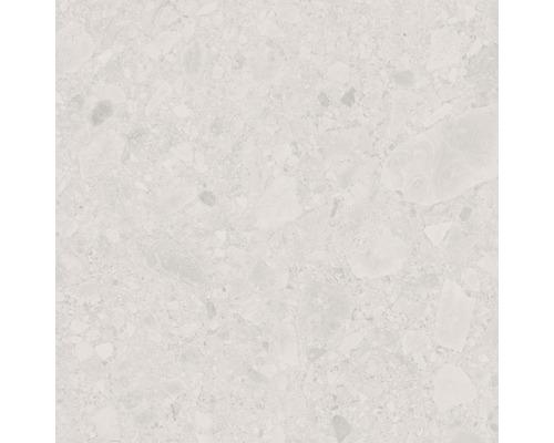 Dalle de terrasse en grès cérame fin Donau beige vitrifié mat 60x60cm