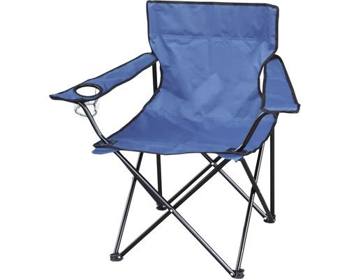 Fauteuil pliant fauteuil de camping pliant avec porte-gobelet bleu