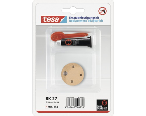 Kit de fixation de rechange adaptateur tesa® BK 27
