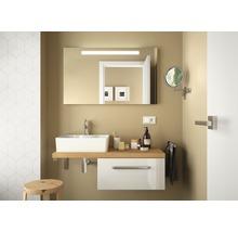 Set de meubles de salle de bains Ibiza 46x100cm blanc haute brillance avec 1 tiroir sans vasque-thumb-1