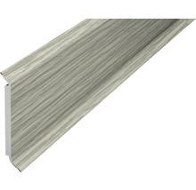 Plinthe âme chêne gris 60 mm x 250 cm-thumb-0