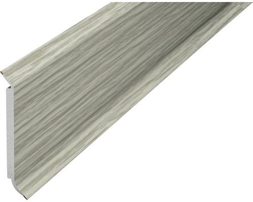 Plinthe âme chêne gris 60 mm x 250 cm-0
