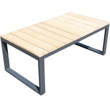 Gartenmöbel-Set Alu-Holz 6-Sitzer 4-teilig anthrazit inkl. Sitzkissen-thumb-13