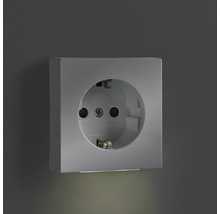Mécanisme de prise de courant avec lumière d''orientation Busch-Jaeger Future Linear blanc studio 20 EUCBLI-84-thumb-1