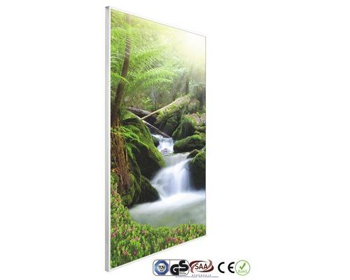 Chauffage infrarouge à motif papermoon Cascade 62 x 102 cm 600W