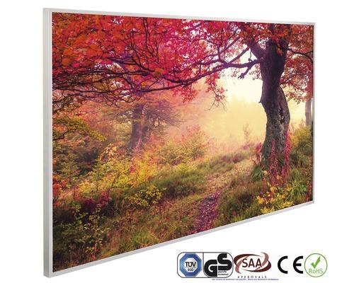 Chauffage infrarouge à motif papermoon Forêt d''automne 62 x 102 cm 600W