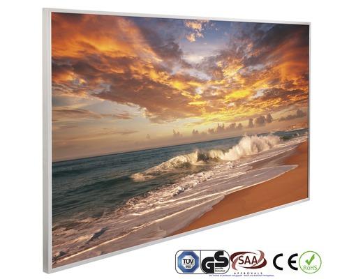 Chauffage infrarouge à motif papermoon Coucher du soleil 62 x 102 cm 600W