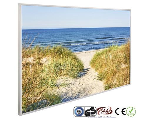 Chauffage infrarouge à motif papermoon dunes chemin sur la plage 62 x 102 cm 600W