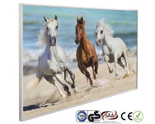 Chauffage infrarouge à motif papermoon chevaux au galop 62 x 102 cm 600W