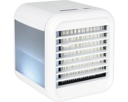 Mini refroidisseur d''air portatif blanc 185x170x200 mm