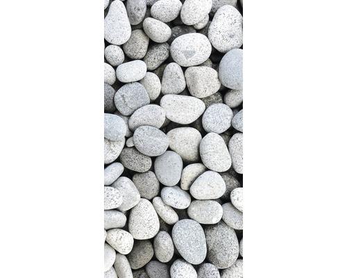 Chauffage infrarouge à motif papermoon verre pierres 60 x 120 cm 750W