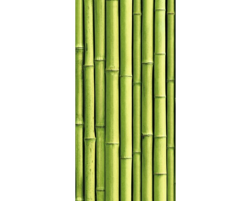 Chauffage infrarouge à motif papermoon verre bambou 60 x 120 cm 750W