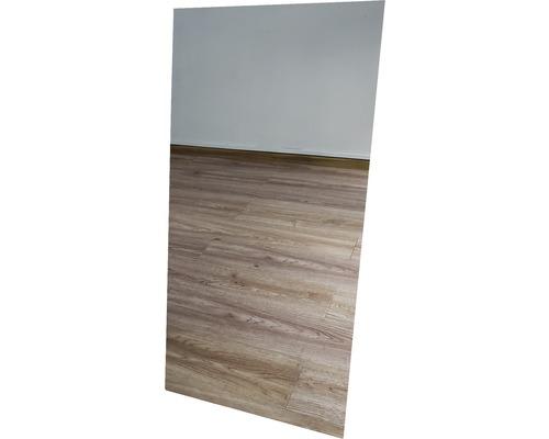 Chauffage infrarouge à motif papermoon verre miroir 60 x 120 cm 750W