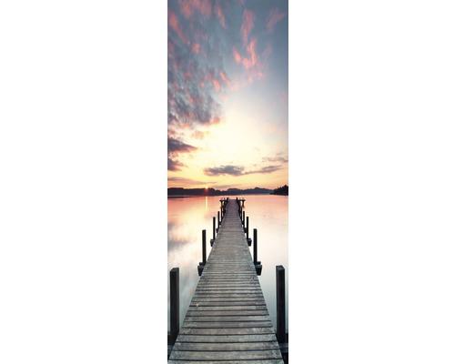 Chauffage infrarouge à motif papermoon, Embarcadère soleil 40 x 120 cm 500W