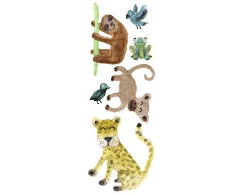 Autocollant mural Jungle Animals