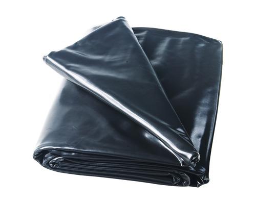 Bâche pour bassin en PVC 1 mm, 48 m², noir