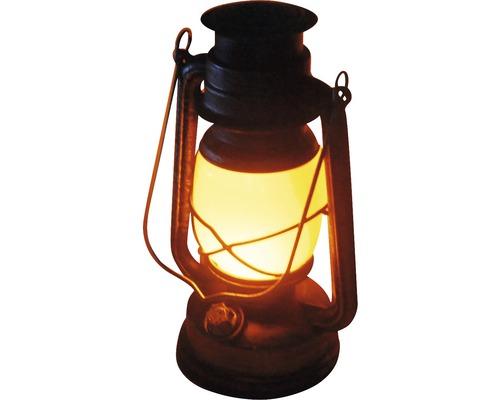 Lampe à huile LED avec variateur H 24 cm, gris
