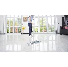 Kit de nettoyage de sol professionnel avec balai à franges, manche, seau 2x15 L, roulettes, presse, housse-serpillère Unger-thumb-5