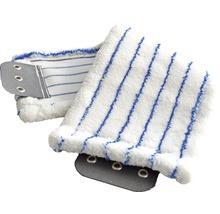 Kit de nettoyage de sol professionnel avec balai à franges, manche, seau 2x15 L, roulettes, presse, housse-serpillère Unger-thumb-3