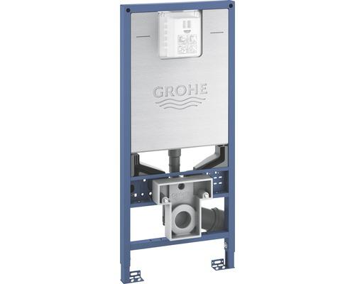 Bâti-support GROHE Rapid SLX pour WC H:113cm avec raccordement électrique (boîtier de borne) et raccordement d''eau pour WC lavant 39596000