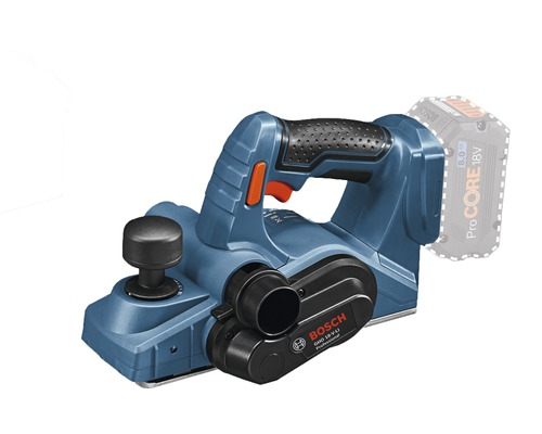 Akku-Hobel Bosch Professional GHO 18V-LI inkl. L-Boxx, ohne Akku und Ladegerät