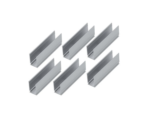 Clip de fixation Plug & Shine Paulmann pour ruban LED néon 6 pces