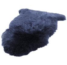 Peau de mouton bleue 90x60cm-thumb-2