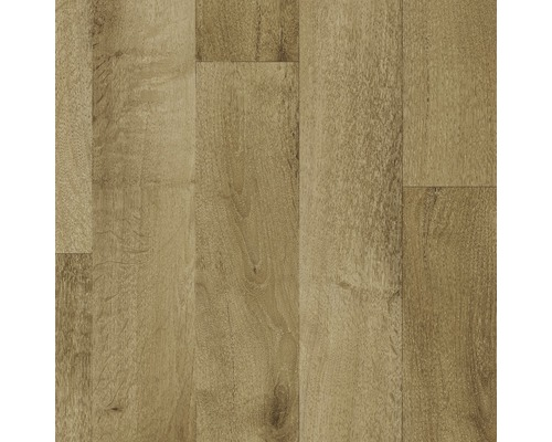 PVC Negros Holzdekor hellbraun 300 cm breit (Meterware)