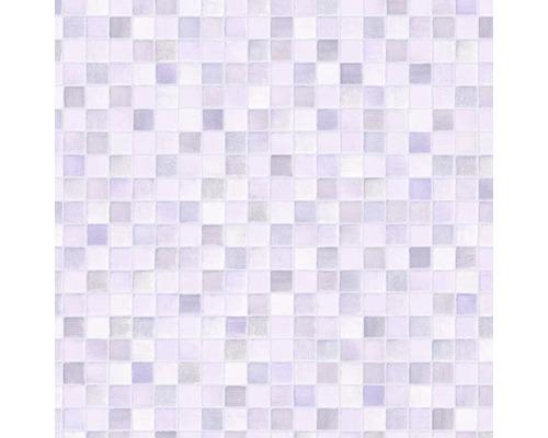 PVC Negros décor carrelage gris largeur 200cm (marchandise au mètre)
