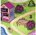 Teppichboden Sweet Town pink 400 cm breit (Meterware)