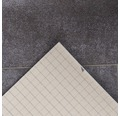 PVC Miami Fliesenoptik braun-grau 400 cm breit (Meterware)