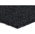 Teppichboden Schlinge Rubino schwarz 500 cm breit (Meterware)