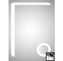 LED Badspiegel DSK Silver Arrow 60x80 cm IP 24 (spritzwassergeschützt)-thumb-0