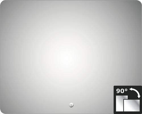 LED Badspiegel Silver Moon 80x100 cm IP 24 (spritzwassergeschützt)