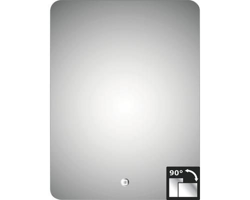 LED Badspiegel Silver Moon 60x80 cm IP 24 (spritzwassergeschützt)
