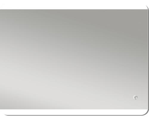 LED Badspiegel Silver Glacier IP 24 (spritzwassergeschützt)