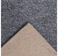 Teppichboden Shag Catania grau 400 cm breit (Meterware)