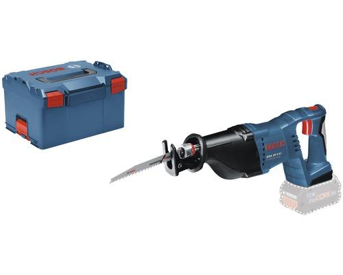 Scie sabre sans fil Bosch Professional GS 18 V-LI avec L-BOXX 238, 1 x lame de scie sabre S 2345 X (Progressor for Wood) et 1 x lame de scie sabre S 123 XF (Progressor for Metal), sans batterie ni chargeur