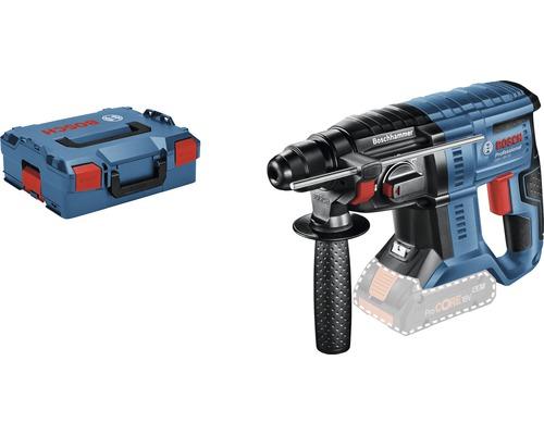 Marteau perforateur sans fil avec SDS plus Bosch Professional GBH 18V-20 avec L-BOXX 136, sans batterie ni chargeur